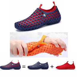 $enCountryForm.capitalKeyWord NZ - Men Women Beach Shoes Spring Summer Aqua Sport Sneakers Comfortable Breathable Outdoor Water Fishing Shoes Couple Aqua Shoes