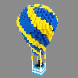 $enCountryForm.capitalKeyWord Australia - Environmentally friendly ABS plastic plug in large blocks of Building blocks Children's Educational Toys Hot Balloon