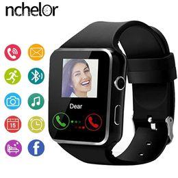 $enCountryForm.capitalKeyWord NZ - X6 Bluetooth Smart Watch With Camera Support SIM TF Card Touch Screen Alarm Clock Sleep Monitoring Sport Watch For Kid Men Women