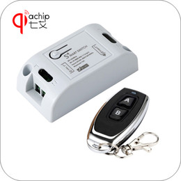 ev1527 learning remote control 2019 - QIACHIP WiFi Smart Switch DIY Smart Home 433.92MHz 2 Button RF Remote Control Learning code 1527 EV1527 Works with Amazo