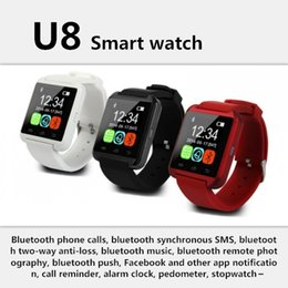 U8 Bluetooth Smart Watch Phone Australia - 2019 Bluetooth U8 Smartwatch Wrist Watches Touch Screen For iPhone 7 Samsung S8 Android Phone Sleeping Monitor Smart Watch