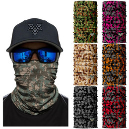 $enCountryForm.capitalKeyWord Australia - 2018 New Camouflage Cycling Windproof Scarfs Bandanas ciclismo Neck Warmer Scarfs Fishing Camo Bandana Man Face Mask Headwear