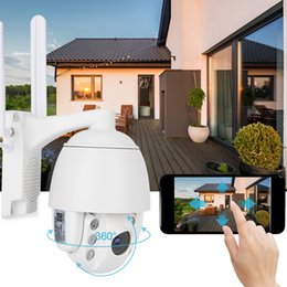 surveilance cameras Australia - 1080P WiFi Night Vision Dome Outdoor Waterproof Security Surveilance Camera System Remote Home Monitoring with Phone Control