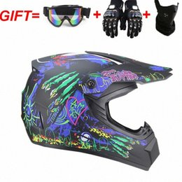dirt bikes racing UK - 2020 New Flip Up Motorcycle Helmet Women Mans Motocross Off Road Helmet ATV Dirt Bike Downhill DH Racing 6XKD#