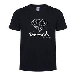 $enCountryForm.capitalKeyWord UK - Mens designer t shirts harajuku blue Diamond SUPPLY CO.t shirt short-sleeve male cotton tops tee casual skate brand hip hop sport clothes
