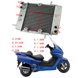 $enCountryForm.capitalKeyWord Australia - Scooter NSS250 REFLEX ABS 2001-2007 Motorcycle Engine Radiator Motor Bike Aluminium Replace Parts Cooling Cooler