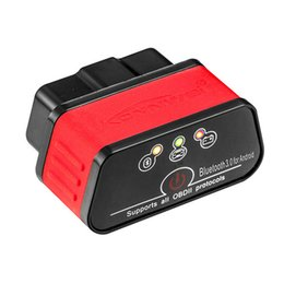 Bluetooth V1.5 conforms to OBD2 EOBD standard Car troubleshooting Scanner Detection tool on Sale