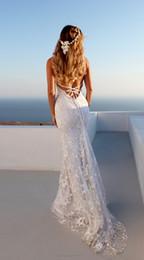 Long White Sleeveless Gauze Dress Australia - Sexy V-neck dress long skirt strap dresses dress woman Embroidery gauze mopping dress &#76uxury Designer party stage catwalk wedding skirt