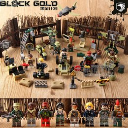 Model Building Objective 8pcs Military Ww2 Special Forces Soldiers Building Block Army Figures Weapon City Brick Children Toy Compatible With Legoings Soft And Antislippery
