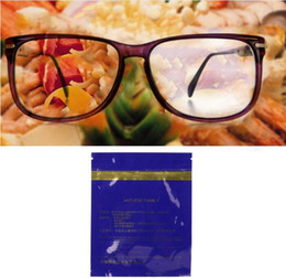 Wholesale Eyeglasses Cleaner Australia - High Quality Glasses Cloth Cleaning Eyeglasses Anti Fog Dust Phone Screen Cleaner Microfiber 100pcs lot Free Shipping