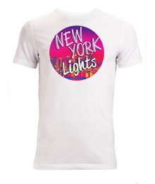 Light York NZ - New York lights graphic Men's White T-Shirt Sizes S-XXL fear cosplay liverpoott tshirt