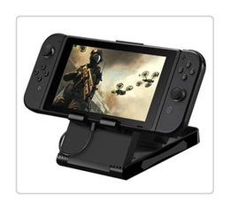 $enCountryForm.capitalKeyWord UK - Switch Game Console Holder Universal Playstand Desktop Stand Adjustable Angle Foldable Base Bracket Black Hot Sale