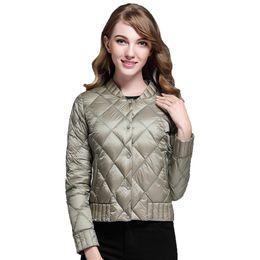 9298889eb25 New Spring Autumn Winter Women Ultra Light Down Jacket Casual Female  Portable Duck Down Coat Jackets Lightweight Parkas