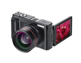 Tft Digital Camera Lithium Australia - New Portable Mirrorless System Cameras 16X Digital Zoom 24MP 3.0-Inch TFT Screen Face Recognition Anti-shake HD WiFI Camera