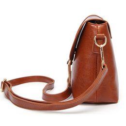 New Tassel Decor Women Messenger Bags Hollow PU Leather Shoulder Bag Female Crossbody Vintage Women Bags Purse