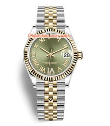 Wholesale 10 color luxury women watches 31mm Mechanical automatic watch Ceramic bezel Sapphire crystal watches 2813 movement lady watches women watch