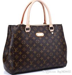 PaPer shoulders online shopping - Quality Women Bag Crocodile Pattern Composite Bag Vintage Women Messenger Bags Shoulder Handbag Purse Wallet Leather Handbags