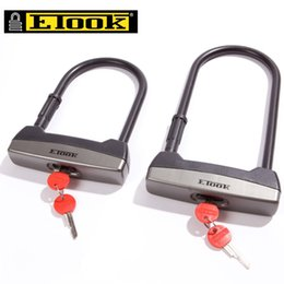 $enCountryForm.capitalKeyWord Australia - Portable Bicycle U Lock Alloy Steel MTB Road Bike Lock Anti-theft Super Strong Anti-Damage Motorcycle Cycling Accessories #158730