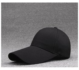 Golf Sun Visors Australia - 2019 new Yu Ge long visor 11CM baseball cap  cotton solid 4a9047e6164