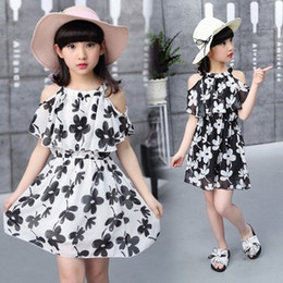 f4381d2e44 Girls new cotton frocks online shopping - baby Girls denim Chiffon dresses  female summer fashion frocks