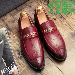 $enCountryForm.capitalKeyWord Australia - Charming2019 Pedal One Wind Trend Leisure Time Set Foot England Small Leather Shoes Male