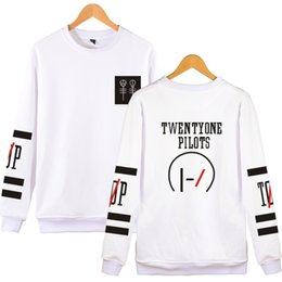 twenty one pilots hoodies NZ - Luckyfridayf Twenty One Pilots Hoodies Capless Men Brand Designer Mens Sweatshirt 21 Pilots Sweatshirt Men 'S Hooded Clothes 2020