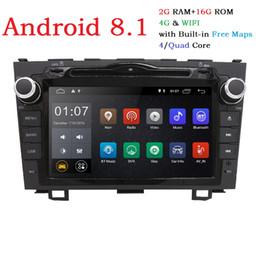 $enCountryForm.capitalKeyWord NZ - Android 8.1 HD 1024*600 Car DVD Player Radio For Honda CRV 2007-2011 4G WIFI GPS Navigation Head Unit 2 din 2GRAM SWC DVB-T DAB+