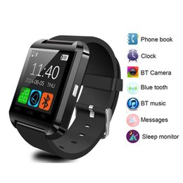 U8 Bluetooth Smart Watch Phone Australia - Bluetooth Smart Watch U8 for iPhone IOS Android Smart Phone Wear Men Digital Clock Wearable Device Smartwaches PK GT08 DZ09