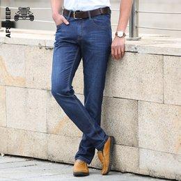 32 38 Jeans Australia - Men Jeans Stretch Fit Long Pants Famous Brand Trousers Designer High Quality 30 32 34 35 36 38 40 42 44 Denim Jeans