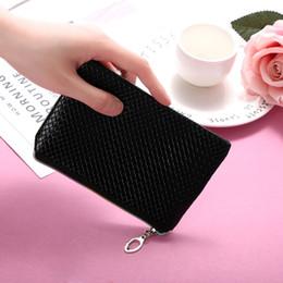 $enCountryForm.capitalKeyWord NZ - Fashion PU Leather Wallet Coin Purse Candy Color Long Wristlet Wallet Lady Credict Card Coin Clutch Zipper Purse Handbag