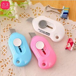 Discount cutting paper art - Love mini portable small art knife express box opener letter opener office paper cutting supplies DHL Free