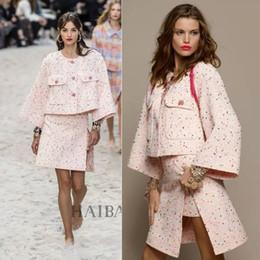 $enCountryForm.capitalKeyWord Australia - elegant two piece set women's suit conjuntos de mujer plus size tweed jacket and skirt set 5xl 6xl chaqueta mujer faldas vadim