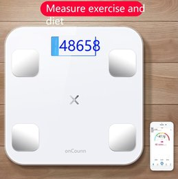 Small Fat UK - Intelligent body fat called household small adult precision electronic scales small weight scales cute human body weight loss free shipping