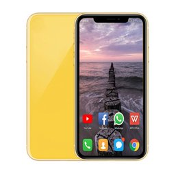 Wireless micro camera bluetooth online shopping - Goophone xr inch cell phones Android phone XR G ram G G rom Face ID MT6580P show G LTE Smartphone