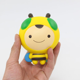 $enCountryForm.capitalKeyWord NZ - Cartoon Bee Squishies Slow Rising Soft Cute Animals Jumbo Squishy Toys Cream Scented Cartoon Stress Relief Toy for Adults Boys Girls Gift
