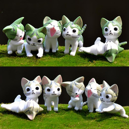 $enCountryForm.capitalKeyWord Australia - Cheese cat doll toy doll ornaments potted succulents moss micro landscape ornaments jewelry accessories