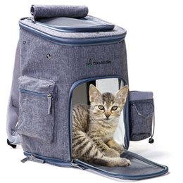 $enCountryForm.capitalKeyWord Australia - Outdoor Portable Pet Dog Carriers Backpacks Cats Dogs Breathable Carrying Bag for Puppy pet chihuahua Travel Hiking Accessories