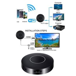 miracast tv wifi dongle 2019 - WIFI HDMI Wireless Dongle Adapter Converter 1080P Mini Display Receiver HDMI TV AV Miracast DLNA Airplay for IOS Android