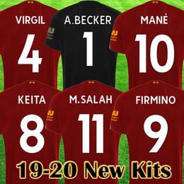 df644ffff miami dolphins 2019 - 2019 2020 New Mohamed Salah soccer jersey MANE Tops  VIRGIL football shirt