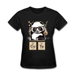 Custom kimono online shopping - Fashion Harajuku T Shirt Women Clothing Custom Made Chemistry Panda Plus Size Short Sleeve Women T shirt S19715
