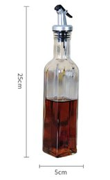 Kitchen oil dispenser online shopping - New Dining Bottle Dispenser Sauce Bottle Glass Bottles Oil and Vinegar Kitchen Tools