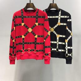 UniqUe belts for men online shopping - Sale sweaters for men Unique Belt Printing knitted sweaters for men cool famous Keep warm mandatory cost price