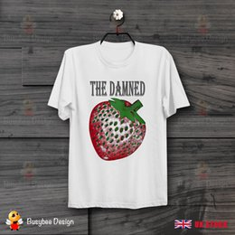 $enCountryForm.capitalKeyWord Canada - Strawberries The Damned Cool Unisex T Shirt B412 Men Women Unisex Fashion tshirt Free Shipping Funny Cool Top Tee Black
