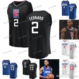 $enCountryForm.capitalKeyWord UK - Kawhi 2 Leonard LA Clipper Paul 13 George Los Angeles Basketball Jerseys Double Stitched Free Shipping High Quality