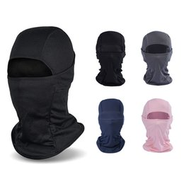 $enCountryForm.capitalKeyWord Australia - Soft Lycra Outdoor Hat 9 Colors Bicycle Cycling Ski Full Face Mask Neck Cover Cap Headgear 5 Pieces ePacket