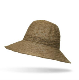 ade6739d 2019 new hot trend simple trend leisure hat Korean version of the sun lion ladies  straw hat fisherman hat holiday holiday beach