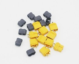 Wholesale 10 lots XT60+ Plug Connector With Sheath Housing Male Female