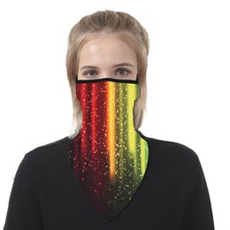 bicycle life Australia - m0IXs Bicycle Lives Matter Scarf I Can't Breathe Neck Masks Magic Motorcycle Bicycle Half Face Mask Headband Multi Black Fishing Scarf Banda