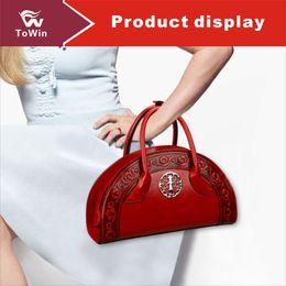 b825b50de920 Классическая сумка Crossbody Роскошные женщины в китайском стиле Сумка  качества искусственная кожа дизайнер сумка на плечо кошелек Tote Boston сумки  оптом