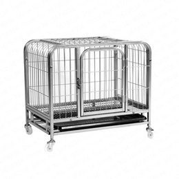 $enCountryForm.capitalKeyWord Australia - 0% Clearance Dog Cage Small Dog Medium Cage Square Tube Teddy Golden Maosamo Small House Kennels
